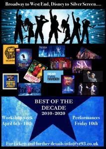 Musicals Through The Decade 2010-2020